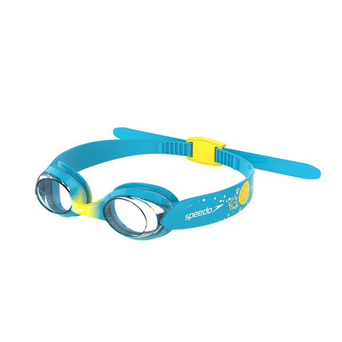 Speedo Illusion Goggles 0-6 Years Infant Blue/Yellow - clickswim.co.nz