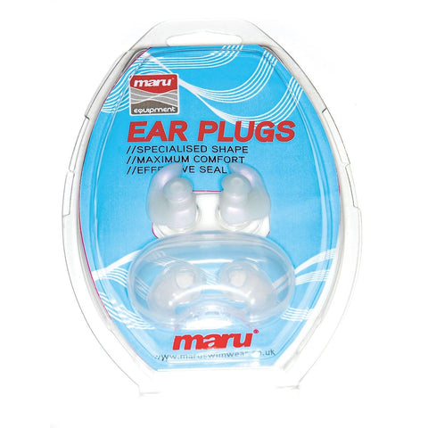 Maru Silicone Ear Plugs With Case - clickswim.co.nz