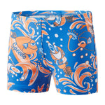 Speedo Infant Boys Swimwear Solarpop Essential Allover Aquashort Blue/Orange - clickswim.co.nz