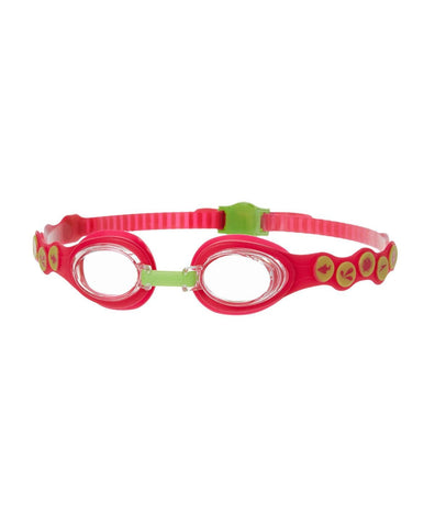 Sea Squad Junior Goggle Pink/Green - clickswim.co.nz