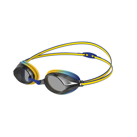 Speedo Vengeance Goggles Junior Yellow/Smoke - clickswim.co.nz
