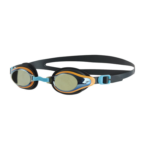 Speedo Junior Unisex Goggles Mariner Supreme Mirror Junior Grey/Silver - clickswim.co.nz