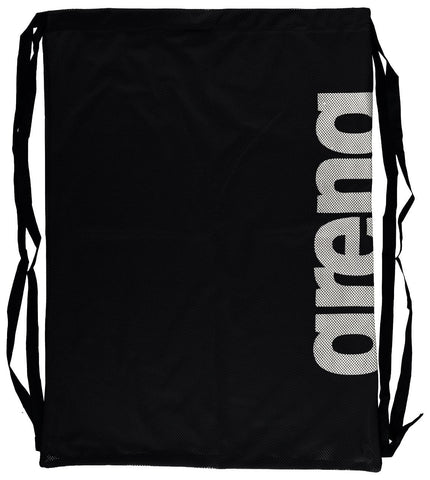 Arena Swim Bags Fast Mesh Black Tem - clickswim.co.nz