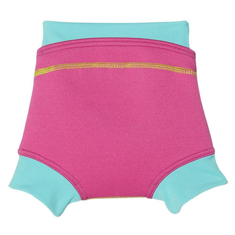 Speedo Infant Girls Swimwear Speedo Swimnappy Cover Pink / Blue
