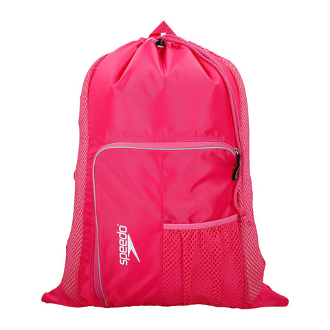 Speedo Deluxe Ventilator Mesh Bag Pink - clickswim.co.nz