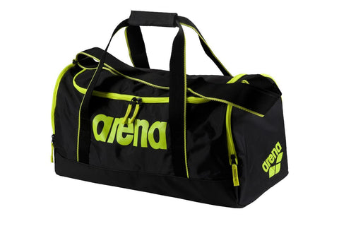 Arena Swim Bag Spiky 2 Small Fluo Yellow - clickswim.co.nz