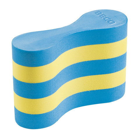 Beco Pullbuoy Adult Blue/Yellow - clickswim.co.nz