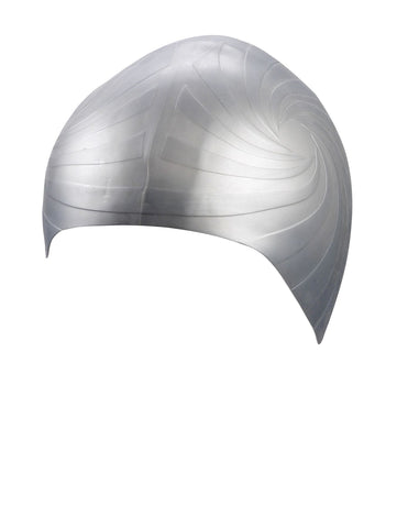 Beco Adult Silicone Cap Racer  Silver - clickswim.co.nz