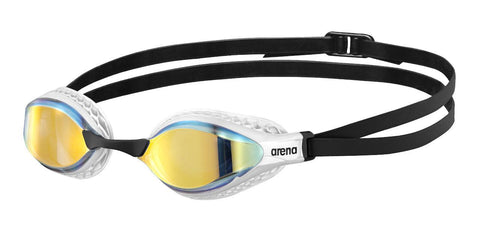 Arena Air-Speed Mirror Adult Goggles Yellow Copper Turquoise Multi