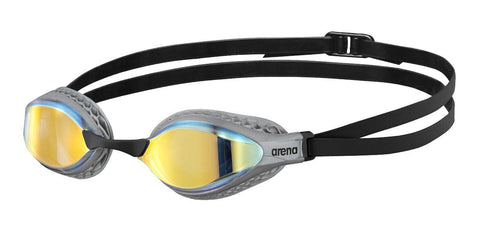Arena Air-Speed Mirror Adult Goggles Yellow Copper Silver