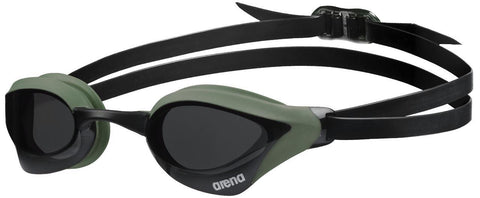 Arena Cobra Core Goggles Smoke Army Black - clickswim.co.nz