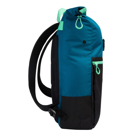 Speedo Team Rucksack III Nordic Teal/Black/Green Glow