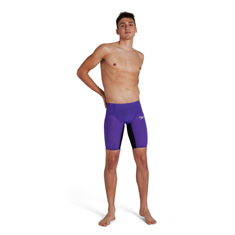 Speedo Fastskin Lzr Pure Valor High Waisted Jammer Mens Violet/Black