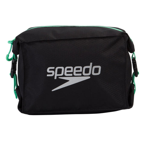 Speedo Pool Side Bag Black/Green Adult