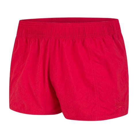 Speedo Swim Short Womens Fed Red