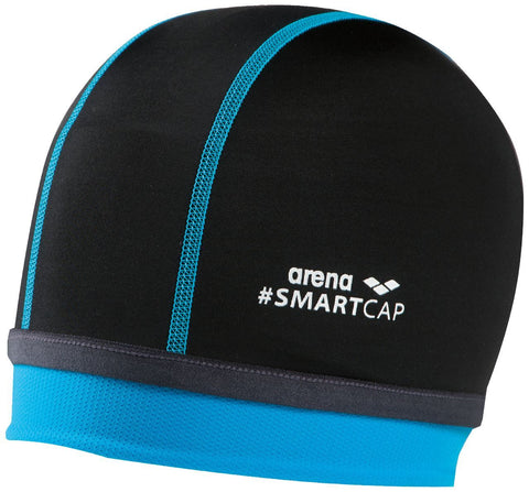 Arena Smart Cap Smartcap Junior  Black - clickswim.co.nz