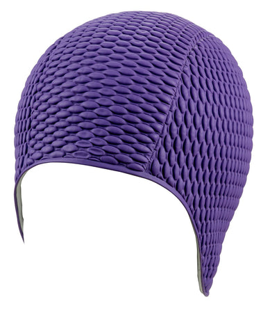 Beco Womens Latex Bubble Cap Purple - clickswim.co.nz