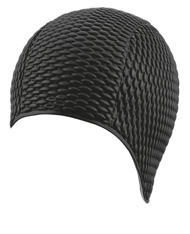 Beco Womens Latex Bubble Cap Black - clickswim.co.nz