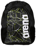 Arena Swim Bag Water Spiky 2 Backpack Black - clickswim.co.nz