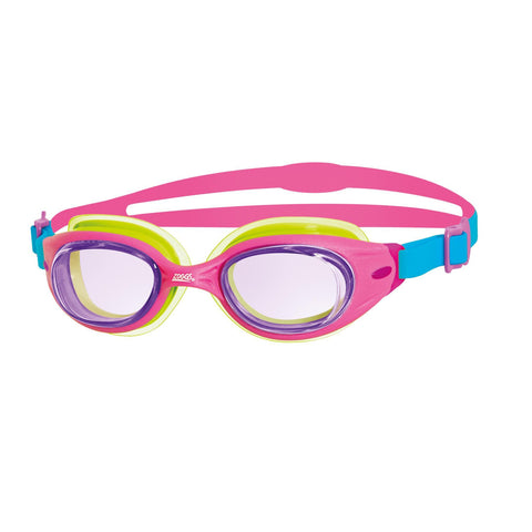 Zoggs Little Sonic Air Goggles Pink - clickswim.co.nz