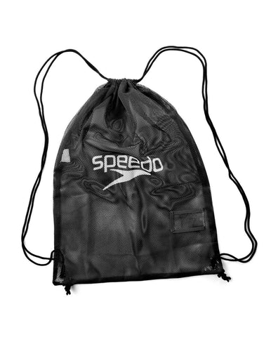 Speedo Equipment Mesh Bag  Black - clickswim.co.nz