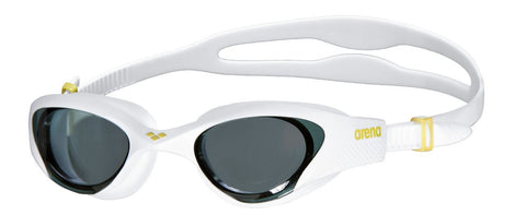 Arena Adult Training Goggles The One Smoke/White/White - clickswim.co.nz