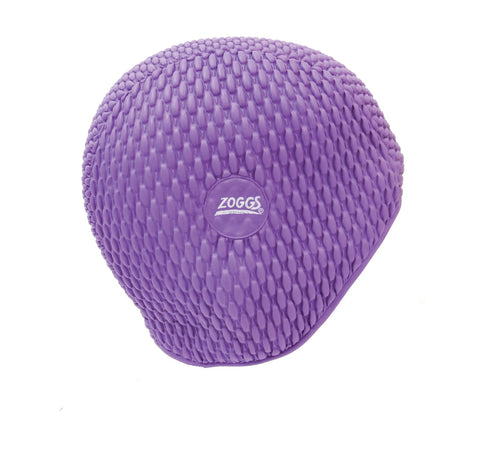 Zoggs Adult Bubble Cap Purple - clickswim.co.nz