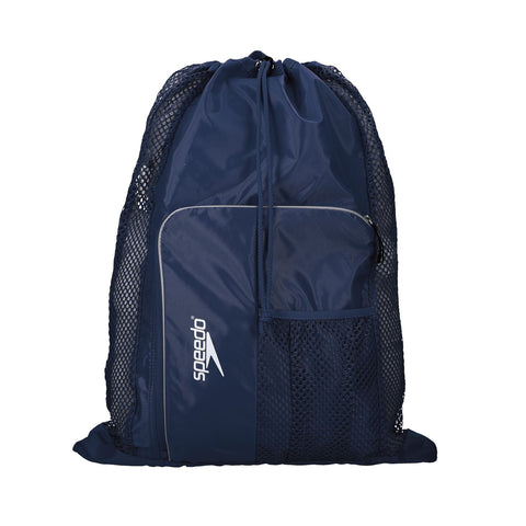 Speedo Deluxe Ventilator Mesh Bag Navy - clickswim.co.nz