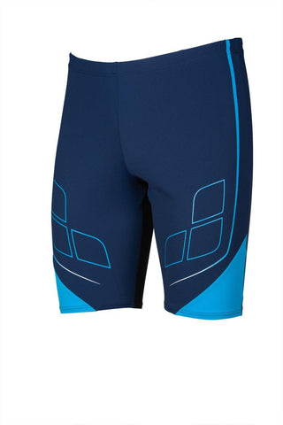 Mens  Destiny Jammer Maxlife Navy Turquoise - clickswim.co.nz