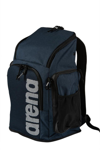 Arena Team  Backpack 45 Team  Navy Melange - clickswim.co.nz