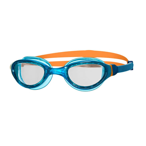 Phantom 2.0 Junior Junior Goggles Blue/Orange/Clear - clickswim.co.nz