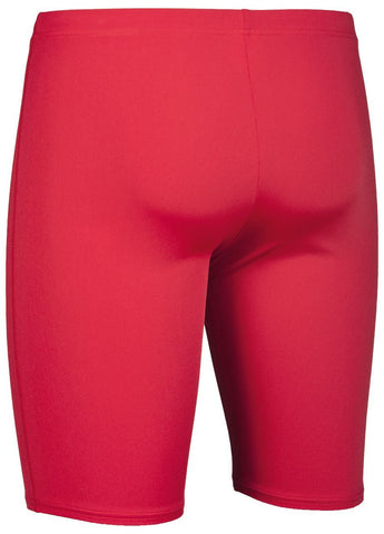 Arena True Sport Mens Solid Jammer Red/White - clickswim.co.nz