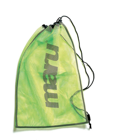 Maru Mesh Bag Lime - clickswim.co.nz