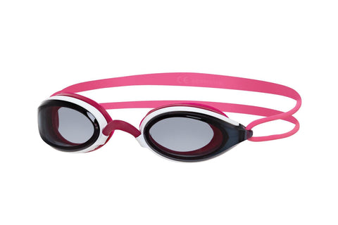 Fusion Air Adult Goggles White/Pink/Smoke - clickswim.co.nz