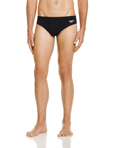 Speedo Endurance Plus 7cm Sportsbrief Black - clickswim.co.nz