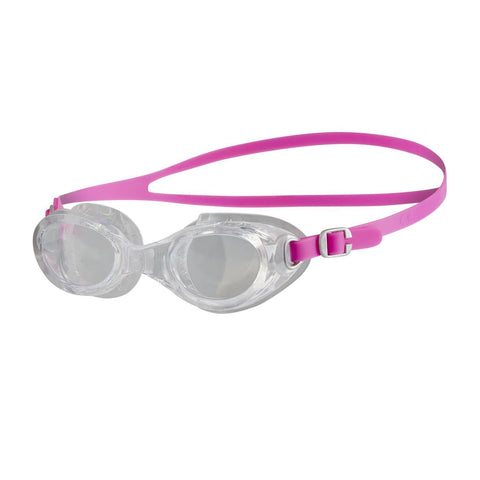 Speedo Adult Womens Goggles Futura Classic Female Pink / Clear - clickswim.co.nz