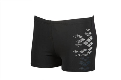 Boys Dongle Junior Short Maxlife Black - clickswim.co.nz