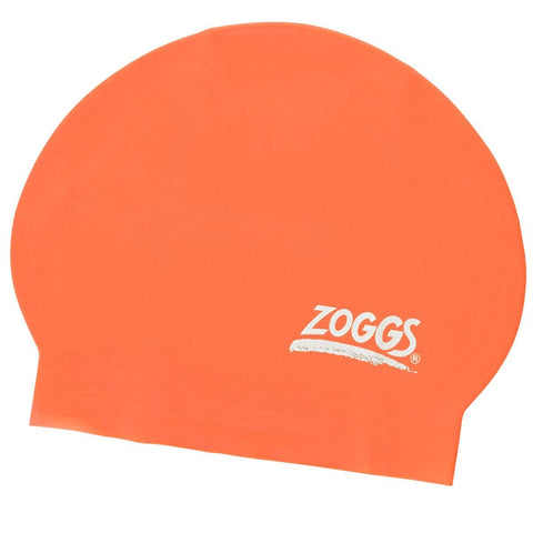 Zoggs Junior Latex Cap Red - clickswim.co.nz