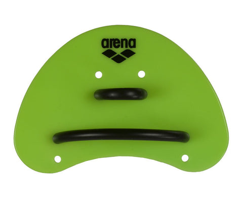 Arena Training Elite Finger Paddle Acid Lime/Black - clickswim.co.nz