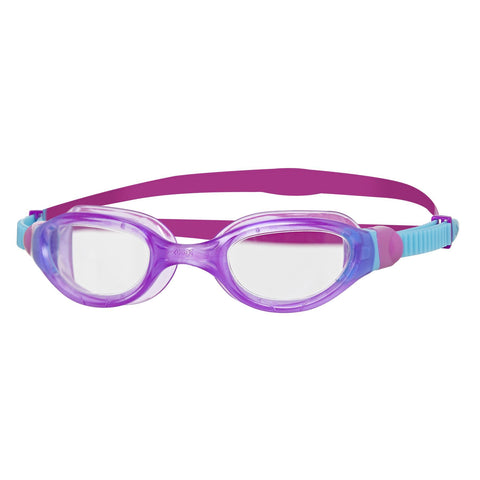 Phantom 2.0 Junior Junior Goggles Purple/Blue/Clear - clickswim.co.nz