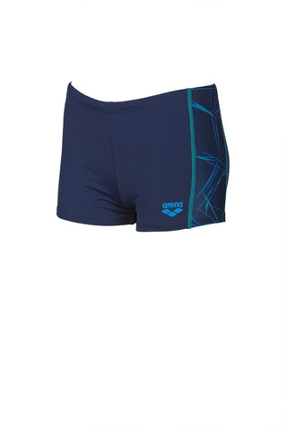 Arena Original Touch Boys Water Short Navy/Navy - clickswim.co.nz