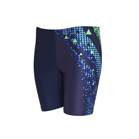 Energy Mid Jammer Ecolast Mens Navy/Multi - clickswim.co.nz