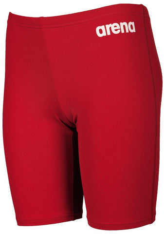 Arena True Sport Boys  Solid Jammer Red/White - clickswim.co.nz