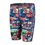 Speedo Jammer Boys Avengers Black/Neon Blue - clickswim.co.nz