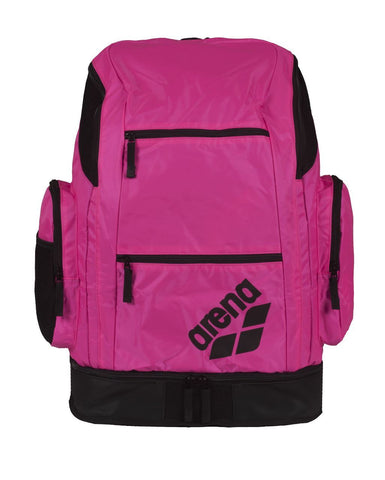 Arena Swim Bag Spiky 2 Large Backpack Fuchsia - clickswim.co.nz