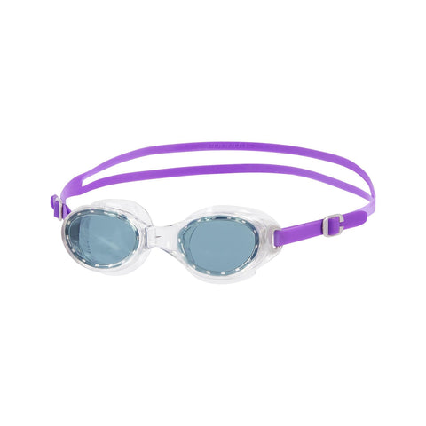 Speedo Adult Womens Goggles Futura Classic Female Purple / Smoke - clickswim.co.nz