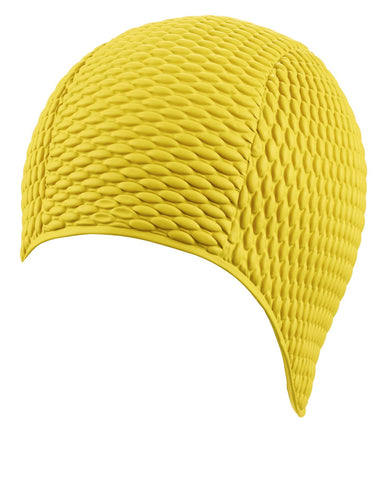 Beco Womens Latex Bubble Cap Yellow - clickswim.co.nz