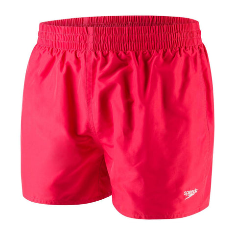 "Speedo Fitted Leisure 13"" Watershort Mens Lava Red - clickswim.co.nz"