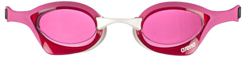 Arena Adult Racing Goggles Cobra Ultra Pink/Pink/White - clickswim.co.nz