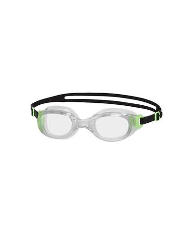 Speedo Adult Unisex Goggles Futura Classic Green / Clear - clickswim.co.nz